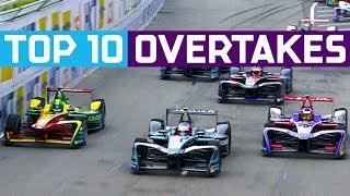 Download Top 10 Overtakes In Formula E History! | ABB FIA Formula E Championship Video