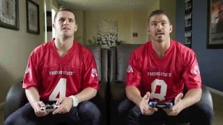 Download Derek and David Carr – hilarious outtakes from EECU commercials Video
