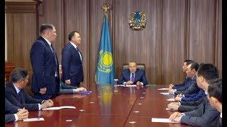 Download Мемлекет басшысы ҚР Мемлекеттік күзет қызметінің басшылық құрамымен кездесті Video