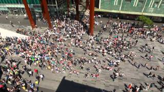 Download Waka Waka Biggest flashmob in the Netherlands Video