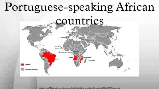 Download Portuguese-speaking African countries Video