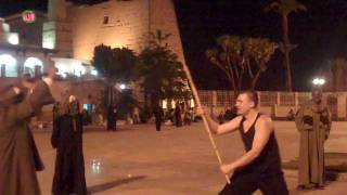 Download Egyptian Stick Fighting (Tahtib) Learning the Basic Blocks Video