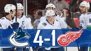 Download Canucks vs Red Wings | Highlights | Oct. 22, 2017 [HD] Video