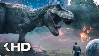 Download Running from the Volcano Explosion Scene - Jurassic World 2 (2018) Video