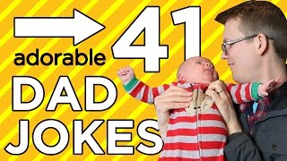 Download 41 Dad Jokes in 4 Minutes! (with special guest star...) Video