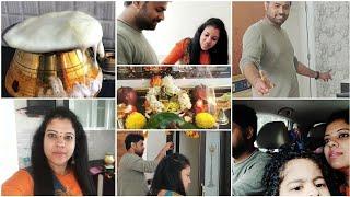 Download #VLOG FIRST DAY KOTTHA INTLO | SIMPLE GRUHAPRAVESAM | MADHUSHIKA VLOGS Video