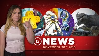 Download PS Plus Games for December Revealed & Pokemon Breaks Sales Records - GS Daily News Video