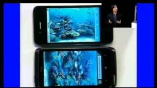 Download IE9 for Windows Phone 7 support HTML5 and speed test with iPhone. Video
