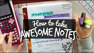Download How to Take Awesome Notes! Creative Note-Taking Hacks Video