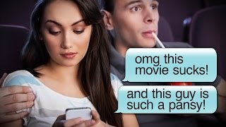 Download Is On-Screen Text Messaging the Future of Movies?! Video