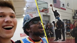 Download JUDGING THE #1 BALL IS LIFE ALL AMERICAN HIGHSCHOOL *DUNK CONTEST* Video