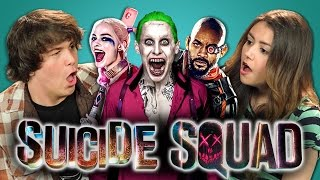 Download ADULTS REACT TO SUICIDE SQUAD TRAILER Video