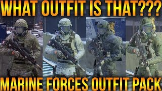 Download HOW TO LOOK LIKE A SOLDIER IN THE DIVISION | MARINE FORCES OUTFIT PACK | EPISODE 1 Video