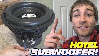 Download Wiring HOTEL Subwoofer w/ 12″ Droppin HZ Car Audio Sub & How To Wire Dual Voice Coil Subs in Series Video