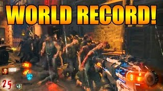 Download [WORLD RECORD] 26 Rounds BO3 ″Shadows of Evil″ Zombies First Room Solo! Video