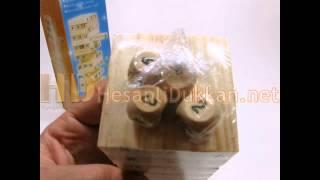 Download Mini jenga zarlı jenga ahşap zeka oyuncağı eğitici oyuncaklar Hesaplı Dükkan Video