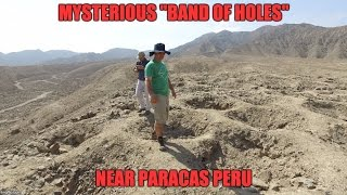 Download The Mysterious ″Band Of Holes″ Near Paracas Peru Video