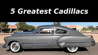 Download 5 Greatest Cadillacs Ever Produced Video