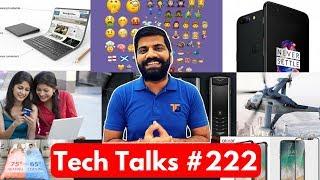 Download Tech Talks #222 - Oneplus 5 Sales, iPhone 8 Confirm, Smart Bedding, Celebrating Yoga, Bitcoin Emoji Video