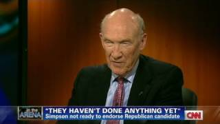 Download CNN: Alan Simpson lashes out at both parties Video