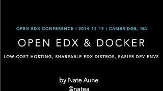 Download Open edX & Docker Video