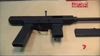 Download WA Police Seize Homemade Machine Guns (2013) Video
