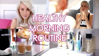Download My Healthy/Workout Morning Routine | Inthefrow Video