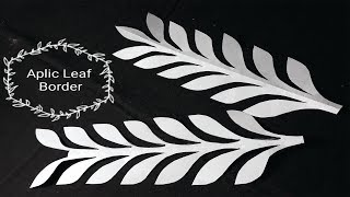 Download Hand Embroidery/Aplic Work Leaf Design Tutorial/Rilli Work/Applique Work/Patch work/Handwork#74 Video