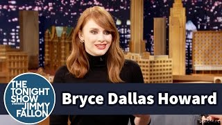 Download Bryce Dallas Howard Calls Out Jimmy's Jurassic World Cameo Video
