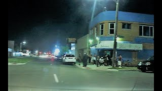 Download DETROIT WEST SIDE HOOD AT NIGHT / DOWNTOWN Video