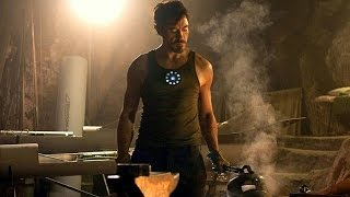 Download Tony Stark Builds Mark 1 - First Suit Up Scene - Iron Man (2008) - Movie CLIP HD Video