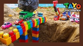 Download Tayo toys buses got stuck in mud! l Tayo Super Rescue Team l Tayo the little bus Video