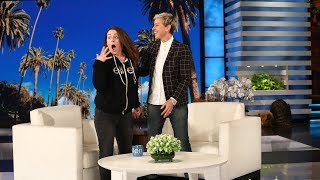 Download Ellen Shocks Jeannie With a Huge Surprise Video
