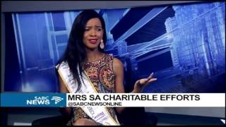 Download Mrs South Africa charitable efforts Video