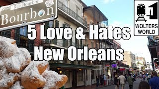 Download Visit New Orleans - 5 Things You Will Love & Hate About New Orleans, Louisiana Video