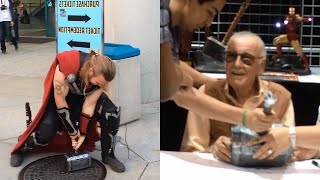 Download Real Thor's Hammer at Comikaze (Stan Lee Signing!!!) | Sufficiently Advanced Video