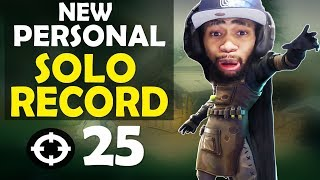 Download 25 KILL SOLO | INTENSE & CRAZY FIGHTS | MY NEW RECORD - FUNNY GAME - (Fortnite Battle Royale) Video
