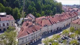 Download Ljubljana - DJI Mavic Pro Video