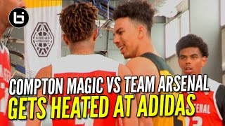Download Gets HEATED At ADIDAS! Compton Magic vs Team Arsenal Video