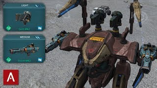 Download NEW ARES ROBOT - THE ULTIMATE GLASS CANNON / Ares Storm Gust MK2 Gameplay / War Robots [WR] Video