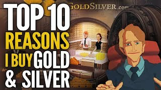 Download Top 10 Reasons I Buy Gold & Silver - (FULL VERSION) Mike Maloney Video