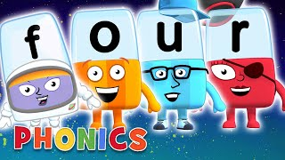 Download Phonics - Learn to Read | Four Letter Words | Alphablocks Video