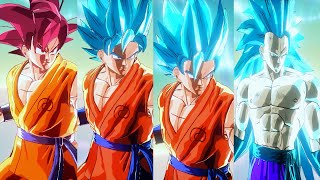 Download Goku SSGSS 1,2,3,SSG Transformable Mod | Dragon Ball Xenoverse Mods Video