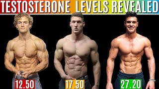 Download REAL Testosterone Levels REVEALED | How to Increase Testosterone Naturally ft. Rob Lipsett & Joey D Video