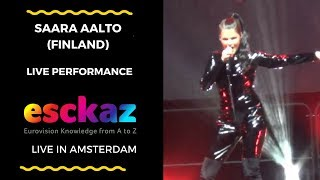Download ESCKAZ in Amsterdam: Saara Aalto (Finland) - Monsters Video