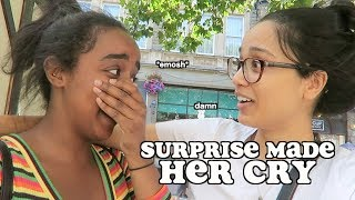 Download surprising my friend for her birthday *she cried* | clickfortaz Video