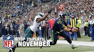 Download Top 25 Plays of November! | 2016 NFL Highlights Video