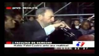 Download Fidel Castro, Discurso en Buenos Aires, Argentina. 02:30 hs. Video