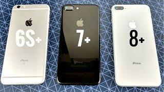 Download iPhone 6S Plus vs iPhone 7 Plus vs iPhone 8 Plus iOS 11.2 Video