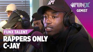Download C-Jay rapt op DRIE BEATS | FunX Talent Rappers Only | Tweede Ronde Video